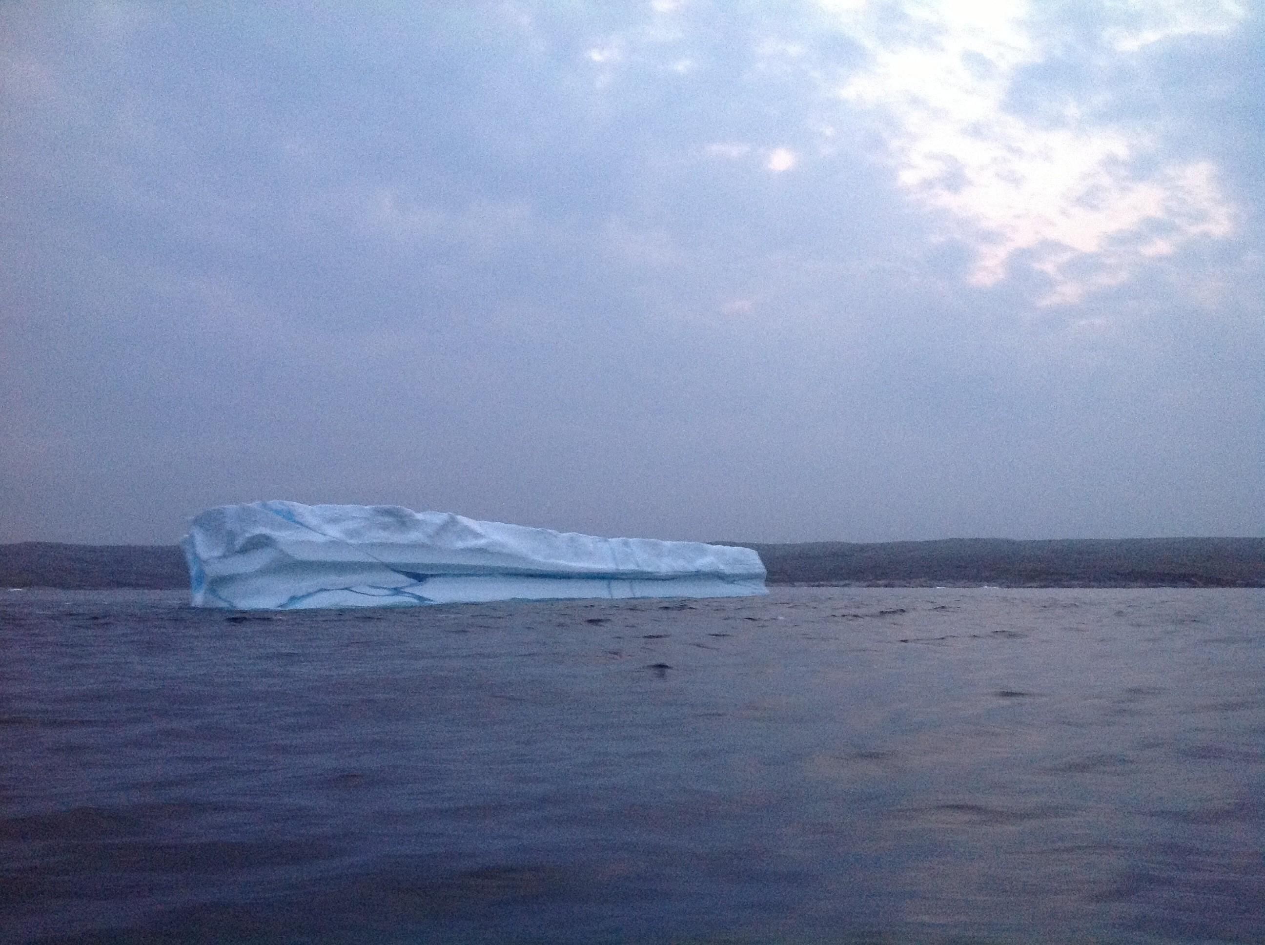 Deuxième iceberg, en route vers le Groenland
