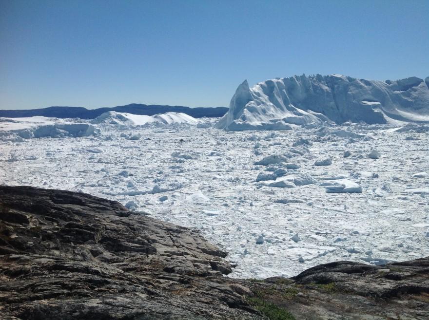 Glacier à Ilulissat