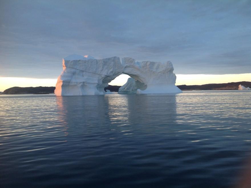 Iceberg Percé vers Egedemind